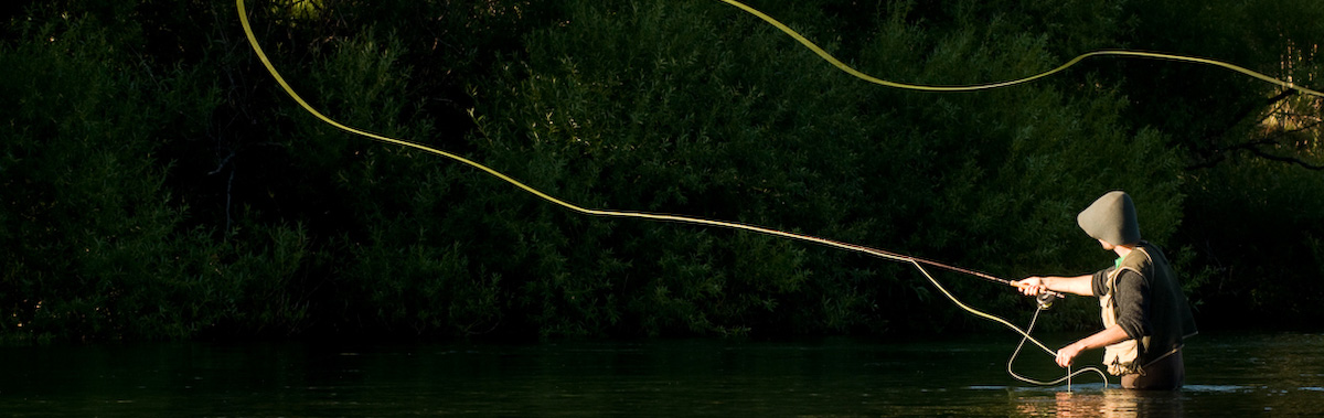 La pêche le lac dans le domaine de Tchéliabinsk